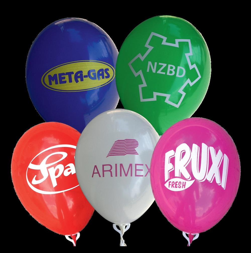 Potisk balonků